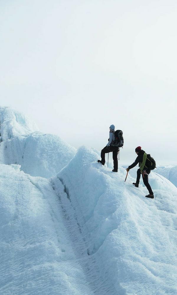 Antarctica climb